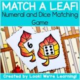 Fall Math Center Activities - Match A Leaf!