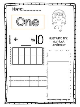 Number Concept 1-10 Worksheets