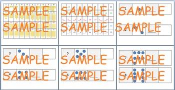 Number Sense Activities: Hundreds Chart & Written num./sets 1.NBT.1, 1.NBT.2