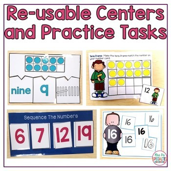 Number Concepts 0 to 20 (Special Education Math Unit)