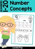 Number Concepts   Worksheets for numbers 1-20