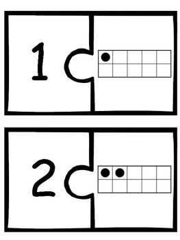 Number Concepts 1-20- Matching Numbers