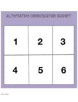 Number Concepts 1-6  Board Game