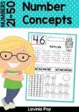 Number Concepts 21-40 Worksheets