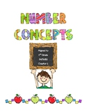 Number Concepts - 2nd Grade GoMath! Chapter 1