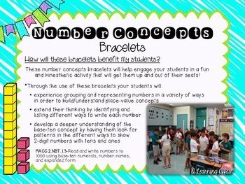 Number Concepts Bracelets Bundle