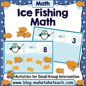 Number Concepts - Ice Fishing Penguins