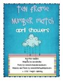 Number Concepts- Ten Frame- April Showers