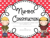 Number Construction: Number Sense for Numbers 1-10