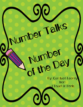 Number Corner-Number of the Day