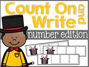 Numbers Count On and Write