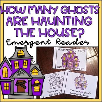 Number Counting Book 1-10 or 1-13 Halloween Emergent Reader for Kindergarten