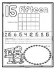 Number Counting Book for Halloween 1-20 No-Prep Printables