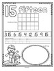 Number Counting Book for SUMMER 1-20 No-Prep Printables