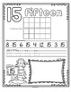 Number Counting Book for Winter 1-20 No-Prep Printables