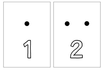 Number Counting Cards 1-20