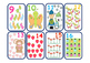 Number Counting Cards - Early Years Animal theme Pre K