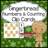 Gingerbread Man Activities : Numbers