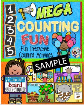 Number Counting Fun~Promethean Board Flip Chart Sample