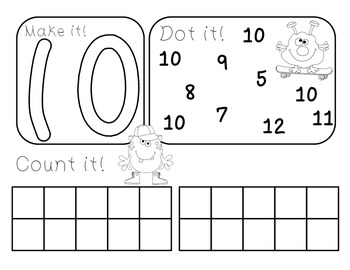 Number Counting Mats
