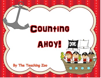 Counting Ahoy! Number Puzzles HUGE Bundle! {1-100, evens,
