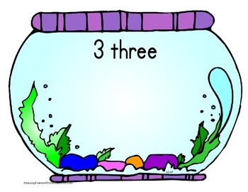 Number Counting and Reconizing Fish Bowl