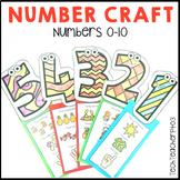 Math Number Craft Activities