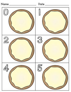 Number Craft - Fingerprint Math Numbers 0-10