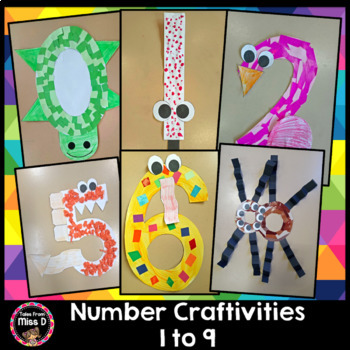 Number Craftivities