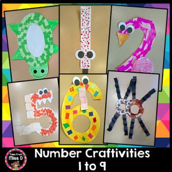 Number Craft Activities