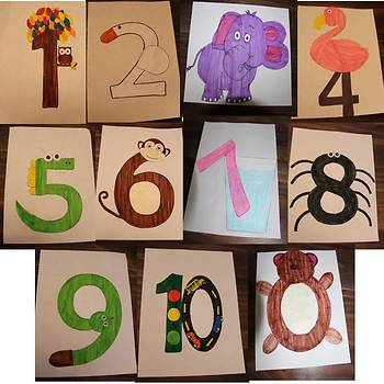 Number Crafts (0-10)