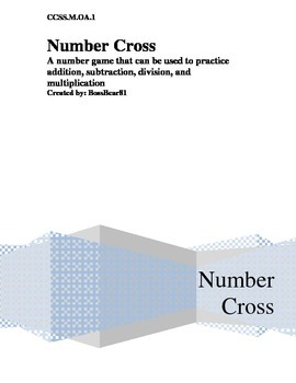 Number Cross