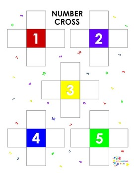 Number Cross: A Fact Families Challenge