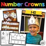Number Crowns, Number Hats 1-10