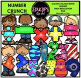 Number Crunch Clip Art Bundle {Educlips Clipart}