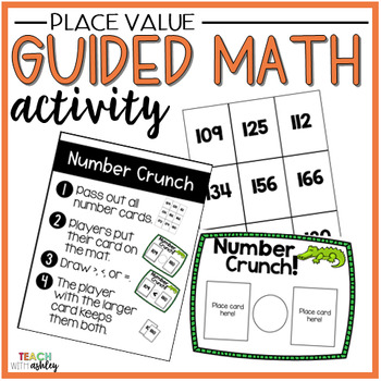 Place Value Guided Math Activity Number Crunch