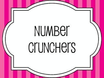 Number Crunchers
