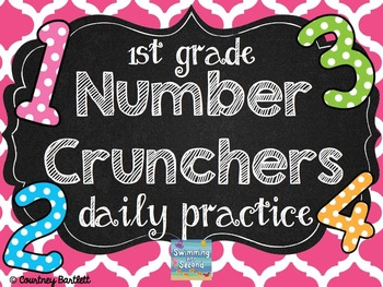 Number Crunchers daily practice (Grade 1)