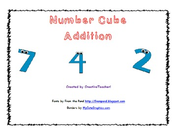 Number Cube Addition
