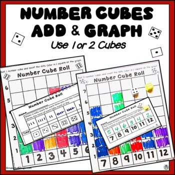 Number Cube Roll-Add and Graph