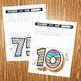 Number Cut and Color (1-120)