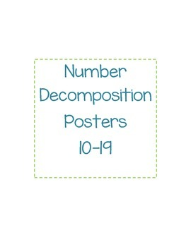 Number Decomposition 10 through 19