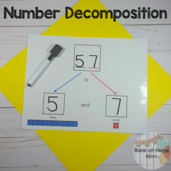 Number Decomposition - Tens and Ones