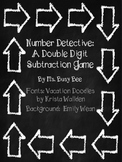 Number Detective: A Double Digit Subtraction Game