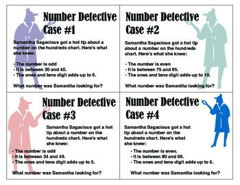 Number Detective: A Mathematical Clue Game