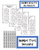 Number Detective Math Tiles - Addition and Subtraction 2-20's Task Cards