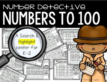 Number Detective--Search & Highlight Center for K-2
