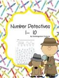Number Detectives 1 - 10
