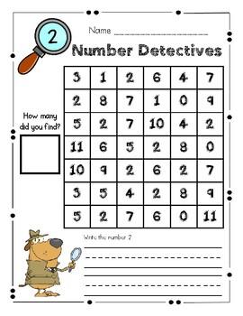 Number Detectives 1-20