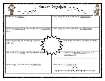 Number Detectives 3-5